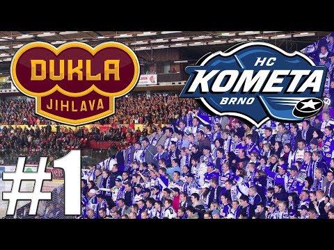 NHL 18 | Mistr Proti Nováčkovi! | HC Kometa Brno-HC Dukla Jihlava | Xbox One | CZ/SK