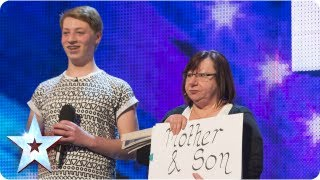 Shirley&James singing 'You Are Not Alone' - Week 3 Auditions | Britain's Got Talent 2013