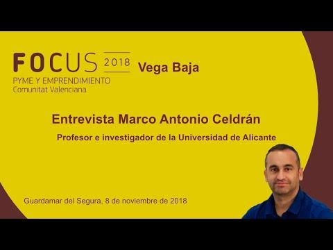 Entrevista a Marco Antonio Celdrán, profesor e investigador de la UA, en Focus Vega Baja