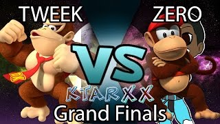 Tweek (DK/Cloud) vs ZeRo (Diddy Kong) KTAR XX Grand Finals Set 1