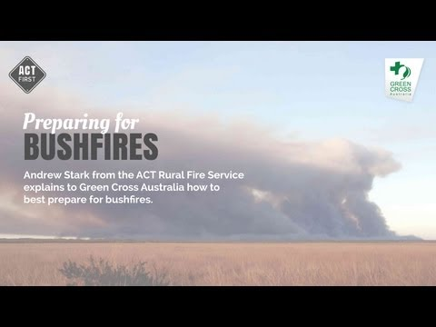 Preparing for bushfires