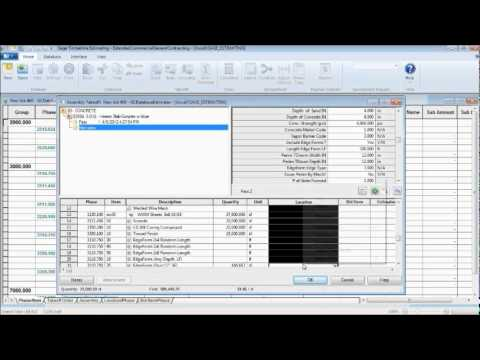 Sage Timberline Estimating Software - 10 Minute Preview with General Contractor Focus