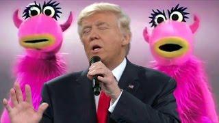 Donald Trump sings Mahna Mahna