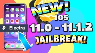NEW Electra JAILBREAK iOS 11 - 11.1.2  By Coolstar (iPhone, iPad, iPod Touch) Get Anemone & SSH!
