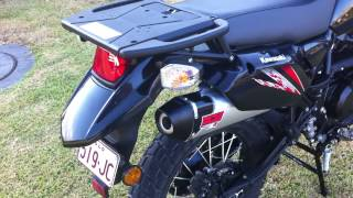 10. 2013 Kawasaki KLR650 With Vance & Hines XCR Slip-On Exhaust
