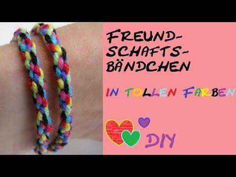DIY: Einfache Technik für ein besonderes Armband/ Freundschaftsband/ ohne felchten oder knüpfen