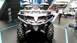 1. 2014 Cfmoto C-Force 500EFI ATV Walkaround - 2013 EICMA Milano Motorcycle Exhibition