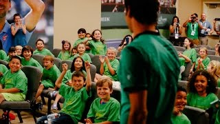 Roger Federer has never seen a press conference quite like this one. The interview room at the BNP Paribas Open Friday was...