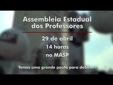 Chamada Assembleia dos Professores 29/04/2016