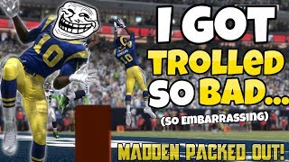 Please Drop a LIKE to help support the Packed Out Series!!(Thank you all so Much!)Want to see more amazing Madden 17 videos??SUBSCRIBE RIGHT HERE: (It helps out a lot!)https://www.youtube.com/user/RandomGaminCrewThank you all so much for all stopping by to check out my channel! For anyone who is new, I really enjoy playing Madden and NBA 2k17. As I'm sure that you will find out, I just like to have fun and mess around with different games. Above all, and most importantly: without my Lord and Savior Jesus Christ this channel would be nothing. Thanks again everyone - your support is incredible!Credits:➡Twitter: https://twitter.com/RealYoBoyPIZZA➡️ Snapchat: Tbone-225➡️ Business Email: therandomgamingcrew@gmail.com➡ Music- Chuki: https://www.youtube.com/user/CHUKImusicAs always don't forget to keep God #1❗️Have an awesome day everyone ❕-YoBoy