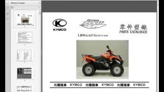 3. Kymco MXU 250 - Workshop, Service, Repair Manual - Owners - Wiring