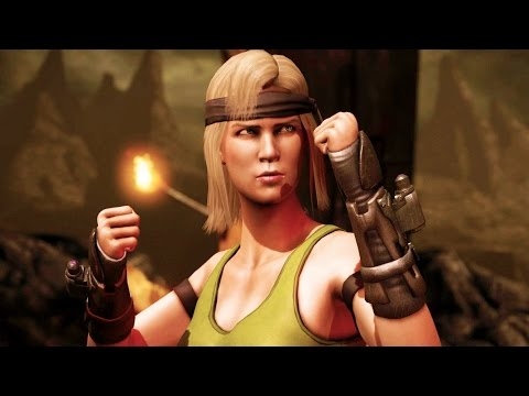 Mortal Kombat X - Sonya Blade MK1 Costume Arcade Ladder Gameplay Playthrough