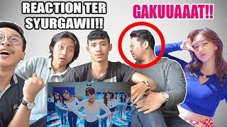 NON KPOP REACT to TWICE - HEART SHAKER [ JIHYO PENCURI PERHATIAN!! ]