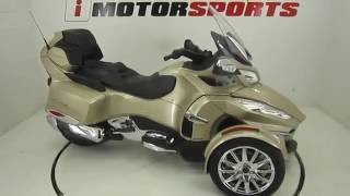8. 2017 CAN AM SPYDER RT LIMITED 6 SPEED SEMI AUTOMATIC @ iMotorsports A2504