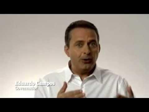 Governador Eduardo Campos apóia Lucrécio em Escada