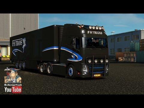 Volvo FH16 750 FHTrans + DLC 1.23.x - 1.23.3.1s