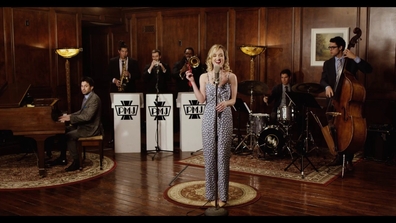 Poker Face – 1946 Big Band Style Lady Gaga Cover ft. Kelley Jakle