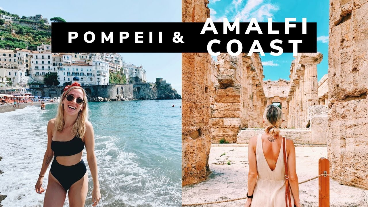 ITALY VLOG: visiting Pompeii & the Amalfi Coast!