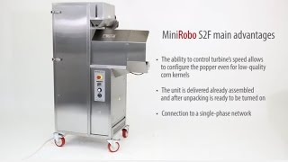 Vortex Popcorn™ machine Mini Robopop® 25