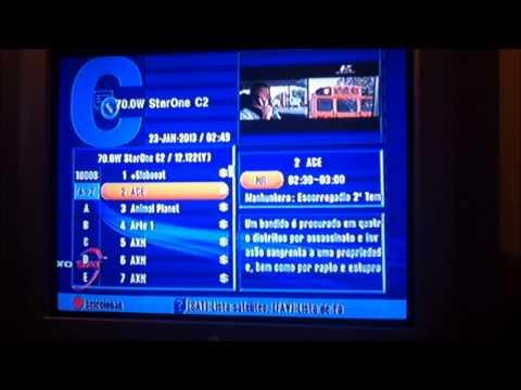 Curiosidade: StarOne C2 Todos Os Canais Sem Codificação 23-01-2013