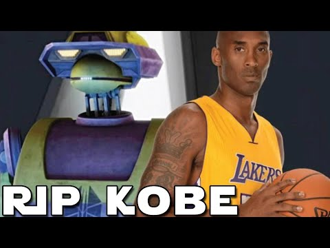 Kobe Bryant's CONNECTION To A Character From The Clone Wars Series