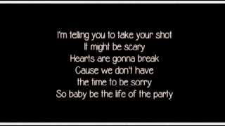 Life Of The Party - Shawn Mendes LYRICS