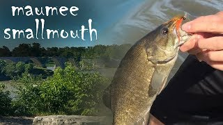 "Sorry to those of you who already saw most of this action on Caleb's channel :/ If you aren't subbed to Caleb already, check him out at the link below!https://www.youtube.com/channel/UC7eukLv_IvSIGNS855AlDEwThis was just a short morning of smallie fishing on the Maumee River in Northwest Ohio. By the time we figured out these fish, it was time to go. I'm hoping to make another video like this in the future where I get better size and numbers. Stay tuned for that, and thanks for watching! Subscribe to follow my life through fishing!Rod: TFO Signature Series 9'6"" 6wtReel: Lamson KonicLine: Sage Performance Taper WF Floating (6wt)Tippet: 8lb FluoroFlies Used: Weightless white marabou streamer, Weighted white wooly bugger, Olive/orange clouser minnowMusic: https://soundcloud.com/jeff-kaale/the-art-of-cool"