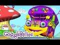 """""""The Wheels On The Bus"""" Nursery Rhymes & Fun Kids Songs w/ The GiggleBellies"""