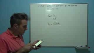 Professor Octavio resolve questão 32 da UERJ vestibular 2017.