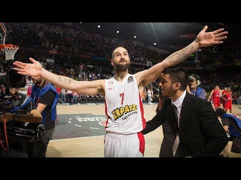 Highlights: Final Four Semifinal CSKA Moscow 68-70 Olympiacos Piraeus