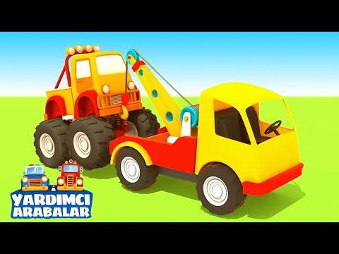 Çizgi film - Yardımcı araçlar - Yakıt kamyonu