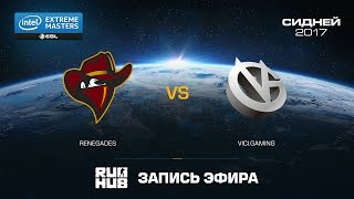 Renegades vs ViCI.Gaming - IEM Sydney - de_cobblestone [ceh9, flife]