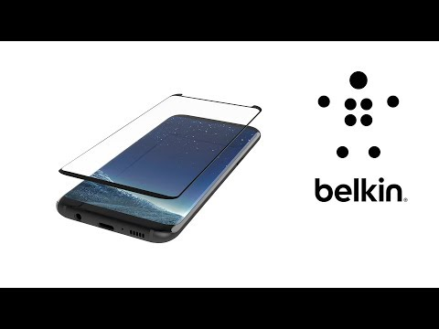 How To: Apply Your ScreenForce® TemperedCurve for Samsung S8 / S8+ with Easy Align Tray