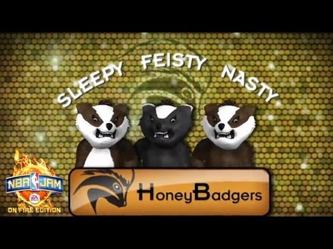 Saturday Morning Cartoons: Honey Badger don't care he's in NBA Jam