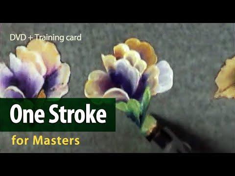 One stroke - for masters.  A tutorial DVD + training card -7.
