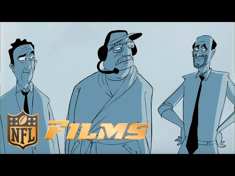 Video: Andy Reid and Mad Money's Jim Cramer | NFL Films Drawn