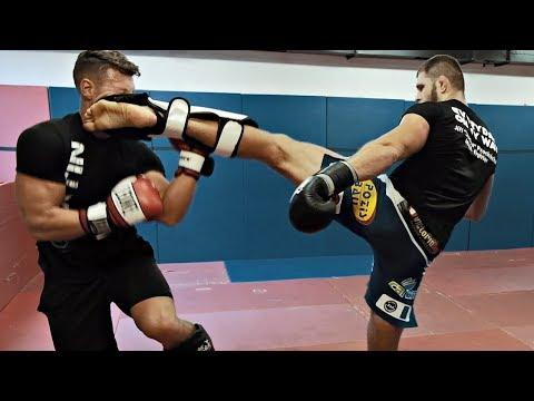 Fitness vs. MMA  Jan Caha pokořen na tréninku MMA