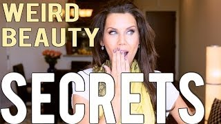 3 WEIRD BEAUTY SECRETS THAT WORK!!!