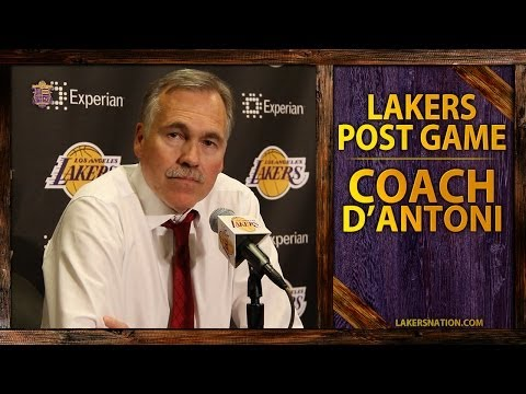 Video: Lakers Vs. Clippers: Coach D'Antoni Says,