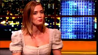 """Emily Blunt""The Jonathan Ross Show Series 3 Ep 06 22 September 2012 Part 2/3"