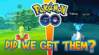EXPLORING MEGANIUM & LAPRAS NESTS! EPIC CATCHES & HATCHES IN NEW ADVENTURE! - POKEMON GO, pokemon go, pokemon go ios, pokemon go apk