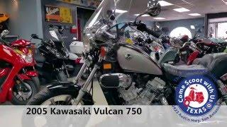 2. 2005 Kawasaki Vulcan 750
