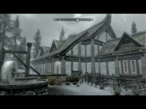 skyrim hearthfire how to buy land in morthal
