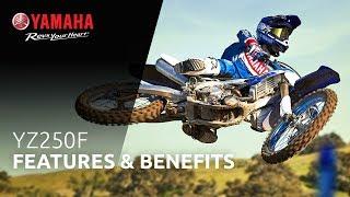 9. 2019 Yamaha YZ250F Features & Benefits