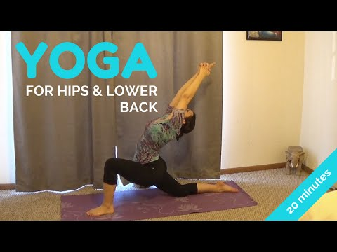 20 Minute Hip Opening Yoga Sequence with Alex Howlett