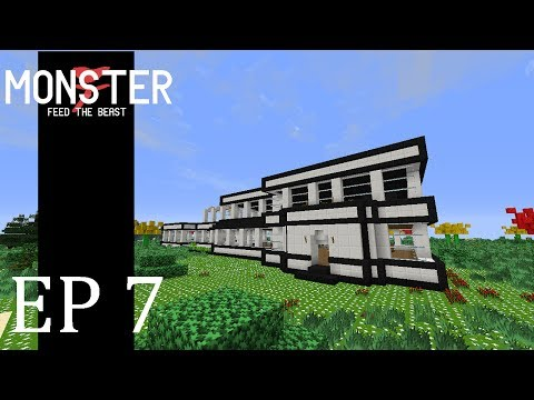 Feed the Beast: Monster - Episode 7 - New Base