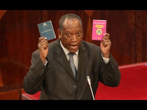Prof. Kabudi akifafanua kuhusu Sheria ya Ndoa ya 1971 Bungeni aliwapowasilisha Mpango na Makadirio ya Bajeti ya Wizara ya Katiba na Sheria na Taasisi zake kwa mwaka wa fedha 2018/2019
