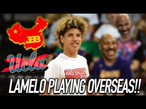 LaMelo  & LiAngelo Ball GOING TO PLAY OVERSEAS! LaMelo NOT GOING TO COLLEGE!