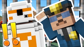 STAR WARS MODDED COPS AND ROBBERS HIDE AND SEEK MOD - Minecraft Mod (FUNNY MOMENTS)