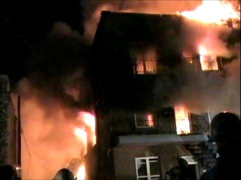 Incendie à Montréal (10-15) - 1er Mars 2011